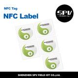 Hf 13.56MHz ISO14443A de la etiqueta Ntag213 de NFC RFID