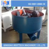 Machine continue de mélangeur de sable d'argile de 15 t/h