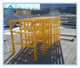 Загородка обеспеченностью FRP, стеклоткань собрала загородку, рельс GRP