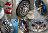 Cuvettes colorées en aluminium de vis de commande numérique par ordinateur pour le moyeu de roue de véhicule, cuvette de vis de remboursement in fine
