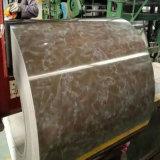 La couleur de produits en acier a enduit la bobine en acier galvanisée par PPGL enduite d'une première couche de peinture de PPGI
