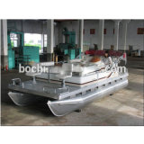 Barca di alluminio dei pontoni della sezione comandi concentrare