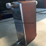 R22, R23, R134A, R404A, R407A, R407c 의 R410A 냉각제에 의하여 놋쇠로 만들어지는 격판덮개 열교환기