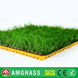 Preços artificiais baratos da grama do futebol durável excelente com preço feliz