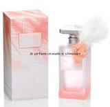 Perfume requintado da mulher com frascos de vidro e qualidade superior