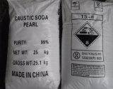 Pérola da soda cáustica do Naoh do costume do hidróxido de sódio da classe elevada do floco da fábrica 99%