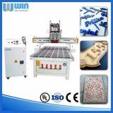 Het Goede Karakter 4X8 voet Dh1325r 2 Assen 2 van China CNC van Hoofden Router