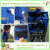 Les gosses neufs 600d imperméabilisent à quatre roues pliable de sacs (TC0433)