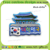 Ricordo permanente personalizzato Corea (RC-KR) dei magneti del frigorifero di Aimant della decorazione promozionale dei regali