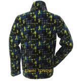 長いジャケットによって印刷される羊毛