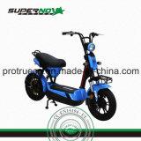 Motocyclette électrique à deux roues avec chargeur intelligent