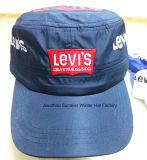 Gorras de béisbol bordadas pico plano barato del deporte de la alta calidad