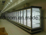 Six Glass Door를 가진 Multideck Display Chiller
