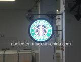 有名ブランド商品のロゴの提出者球ネオンLEDの印を保存しなさい