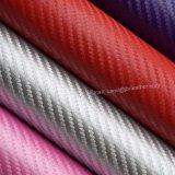 O Weave de cesta Textured o couro do plutônio, couro sintético gravado do saco