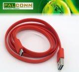 Supporter le mâle vers l'avant et renversé de la garniture intérieure USB2.0 pour taper le câble de caractéristiques de C