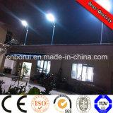 China fabricante 15W 20W 30W 45W Todos en un solar de la calle, luz de calle del LED con batería de litio Bueno