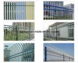 ゲートが付いている庭の錬鉄の塀