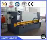 QC11Y-20X3200 E21S 유압 단두대 깎는 기계, 강철 플레이트 절단기