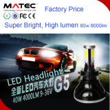 Faro impermeable ligero principal 12V/24V 40watt 4000lumen de la lámpara LED el 100% de la MAZORCA