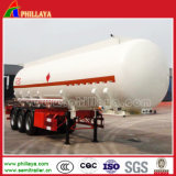 3 Chemische Tanker van de Aanhangwagen van assen de Vloeibare