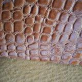 Чывство хорошее, кожа аттестации SGS высокое светлое высокого качества, кожа PVC мешка кожаный