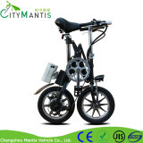 Bici eléctrica plegable portable de 14 pulgadas con la velocidad de Shimao 7
