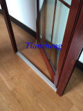 Waterproof Double Glazed Aluminum French Doors with AS/NZS2208
