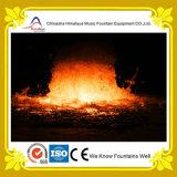 熱い販売水機能火の噴水