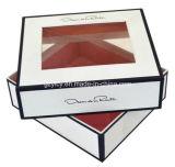 Empacotamento cosmético da caixa de presente do papel especial