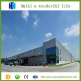 Implantation industrielle d'entrepôt de bâti d'acier de construction