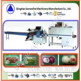 Machine végétale d'emballage en papier rétrécissable de Trayed