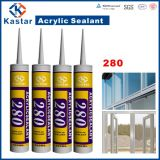 Calfeutrage blanc de construction de haute performance, mastic acrylique (Kastar280)