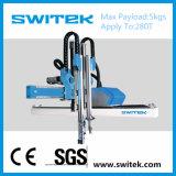 Braço industrial automático do robô de cinco linhas centrais do CNC para os produtos plásticos (SW6308)