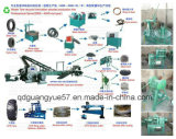 Waste Tyre Recyclingのための使用されたTire Recycling Machine