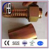 Instalación de tuberías de goma de alta presión hidráulica de las guarniciones de manguito DK métrica, Dkj, Dki, Dkol, Dkos, Orfs, Bsp, Jic, la Florida, guarnición del dispositivo de seguridad