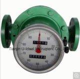Diesel Stroom die de Ovale Meter van de Stroom van het Type van Toestel Mechanische meten