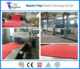 Ring-Kissen-Matten-Blatt-Produktionsanlage-Maschine der Belüftung-Fußboden-Teppich-Strangpresßling-Zeilen-/Kurbelgehäuse-Belüftung
