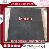 De rubber Vloer van de Bevloering van de Gymnastiek van de Tegels van de Sport voor Tegels van de Speelplaats van de Gymnastiek de Antislip Rubber