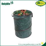 Зеленый цвет Onlylife хлопает вверх тара для хранения воды складного мешка сада складная упорная