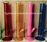 18inch Heavy Glass Straight Water Pipe 7mm Thick 1300g