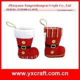 Utilisation de cadeau de poste de gaine de Noël de vacances de Noël de la décoration de Noël (ZY16Y015-1 14CM)