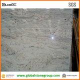 Bancadas brancas do granito do rio de pedra natural com borda Bullnose