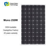 flexible Energie PV-monokristalliner Sonnenkollektor der Sonnenenergie-250W