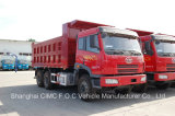 Autocarro con cassone ribaltabile di Faw 6*4 del camion pesante di Faw