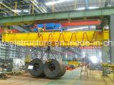 Широко используемый моста вешалки прогона Qd кран двойного надземный 20/5 тонн с оборудованием электрической лебедки поднимаясь