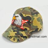 昇進のブラシをかけられた綿の方法野球帽
