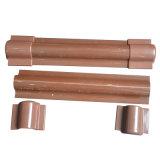Monture d'embout pour la garde de canalisation verticale en Brown et dans le noir