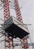 Ascenseur matériel de section jumelle neuve de mât utilisé pour grand Transprotation vertical
