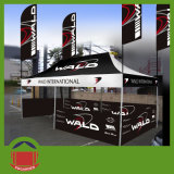Exhibition ao ar livre Cheap Custom Printed Canopy Tent com Advertizing Flag